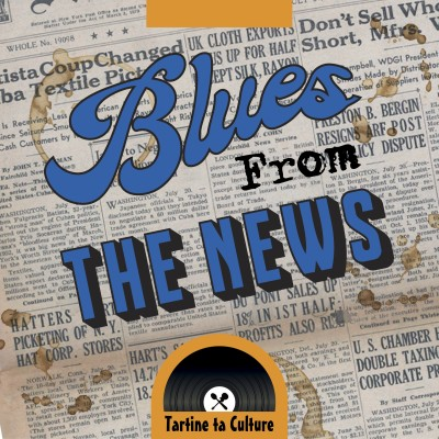 Blues From the News #7 - Kenji cover