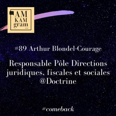 Episode 89 : Arthur, Responsable Pôle Directions juridiques, fiscales et sociales chez Doctrine (comeback) cover