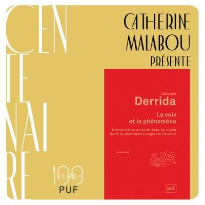 """Catherine Malabou présente """"La voix et le phénomène"""" de Jacques Derrida cover"""