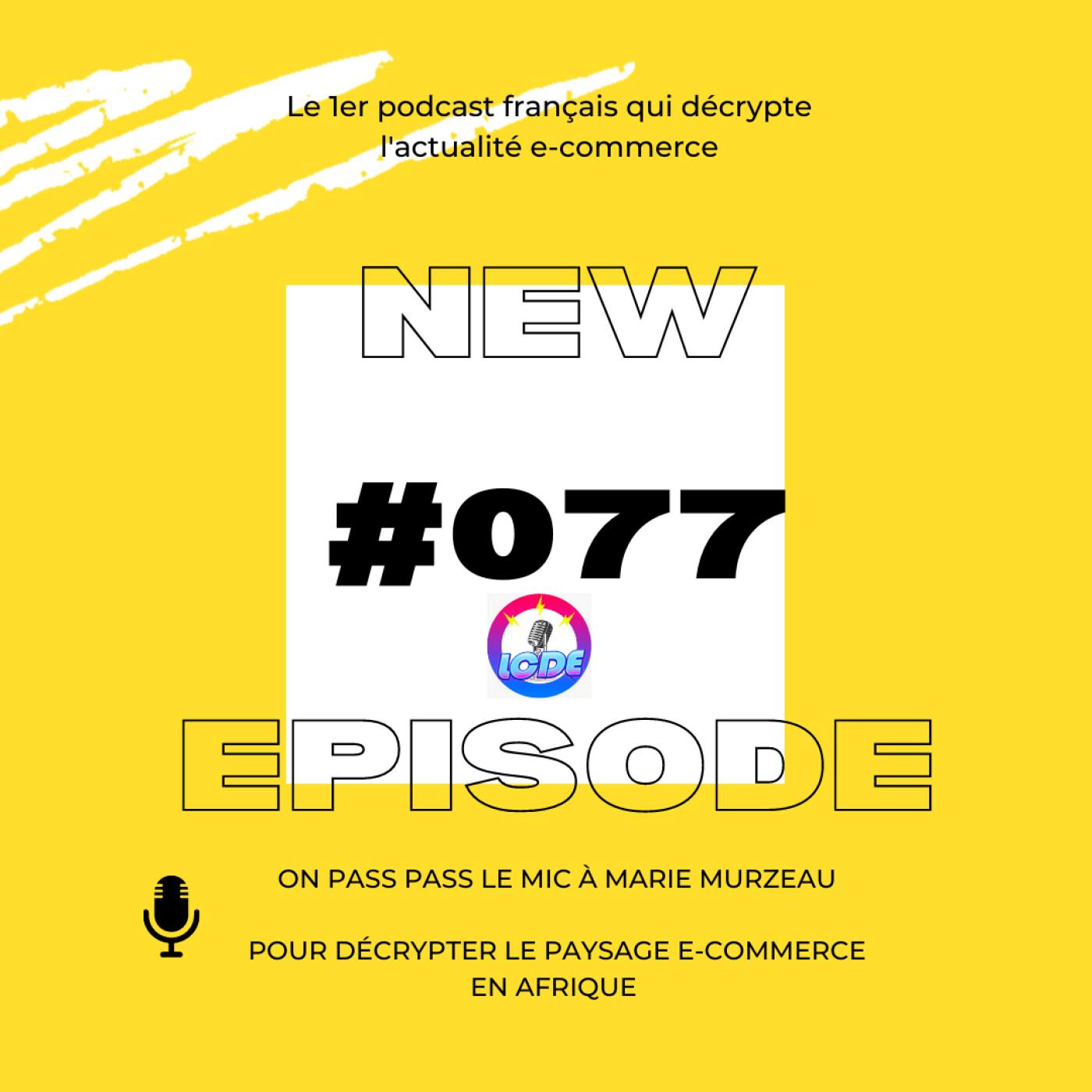 077 - Les déboires de Vinted, ecommerce en Afrique avec Marie Murzeau,...
