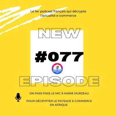 077 - Les déboires de Vinted, ecommerce en Afrique avec Marie Murzeau,... cover
