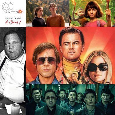 Once Upon a Time… In Hollywood, L'intouchable Harvey Weinstein, Dora et la Cité Perdue... (Ft : Damien d'Autour du feu) cover