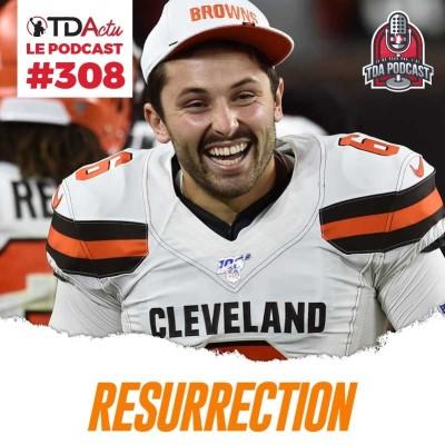 image TDA Podcast n°308 - Débrief S4 : les Browns et Lions ressuscités