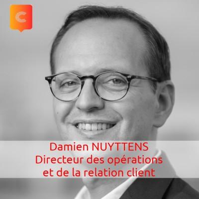 S01E12 - Damien NUYTTENS - Directeur des Opérations et de la Relation Client - Butagaz cover