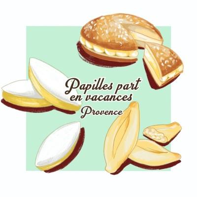 Papilles Part en Vacances #6 - La Provence cover