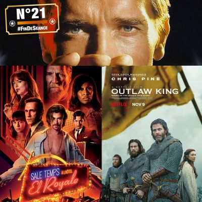 #21 SALE TEMPS À L'HÔTEL EL ROYALE et OUTLAW KING : Monar'chic ? cover