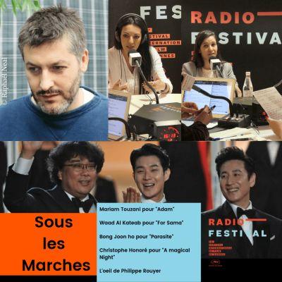 MaryamTouzani, Waad Al Kateab, Christophe Honoré et Bong Joon Ho cover