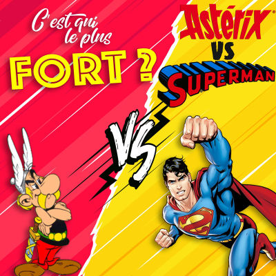 image Asterix vs Superman, le comics contre la BD !