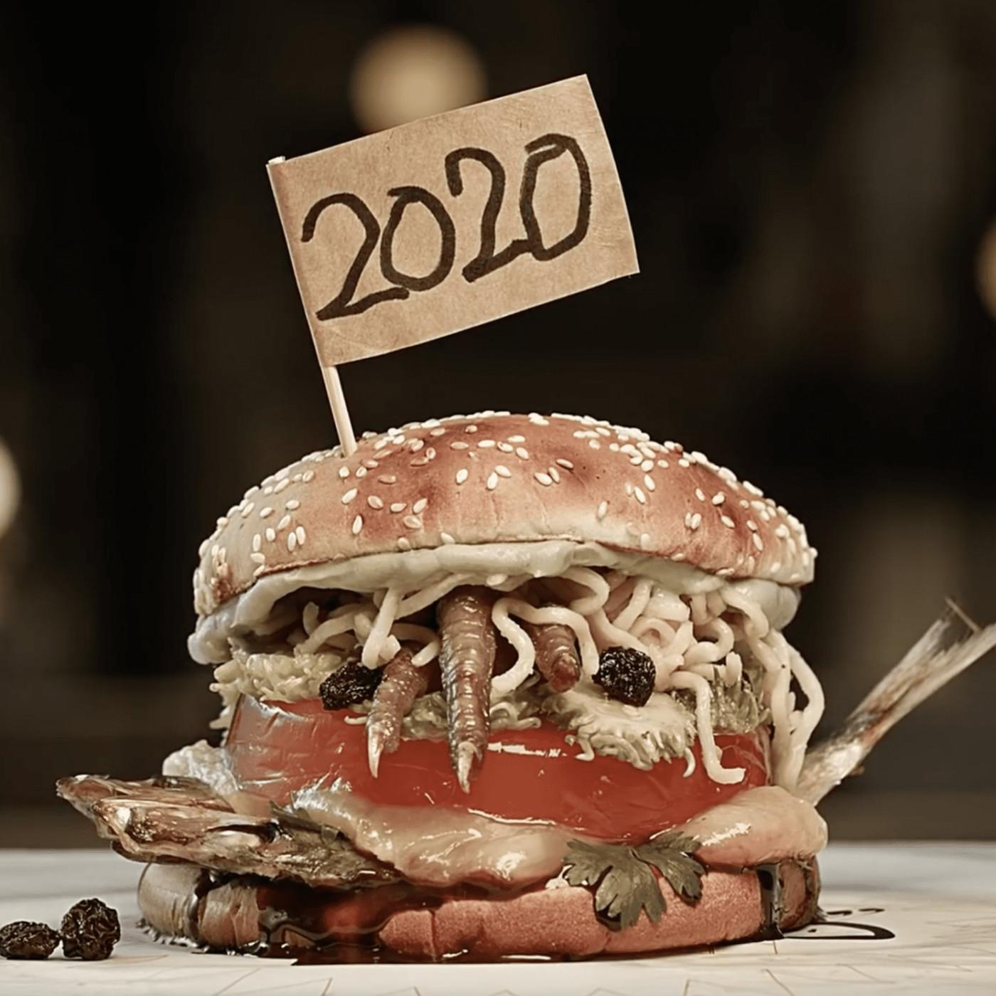 Le dernier né immonde de Burger King : le 2020.
