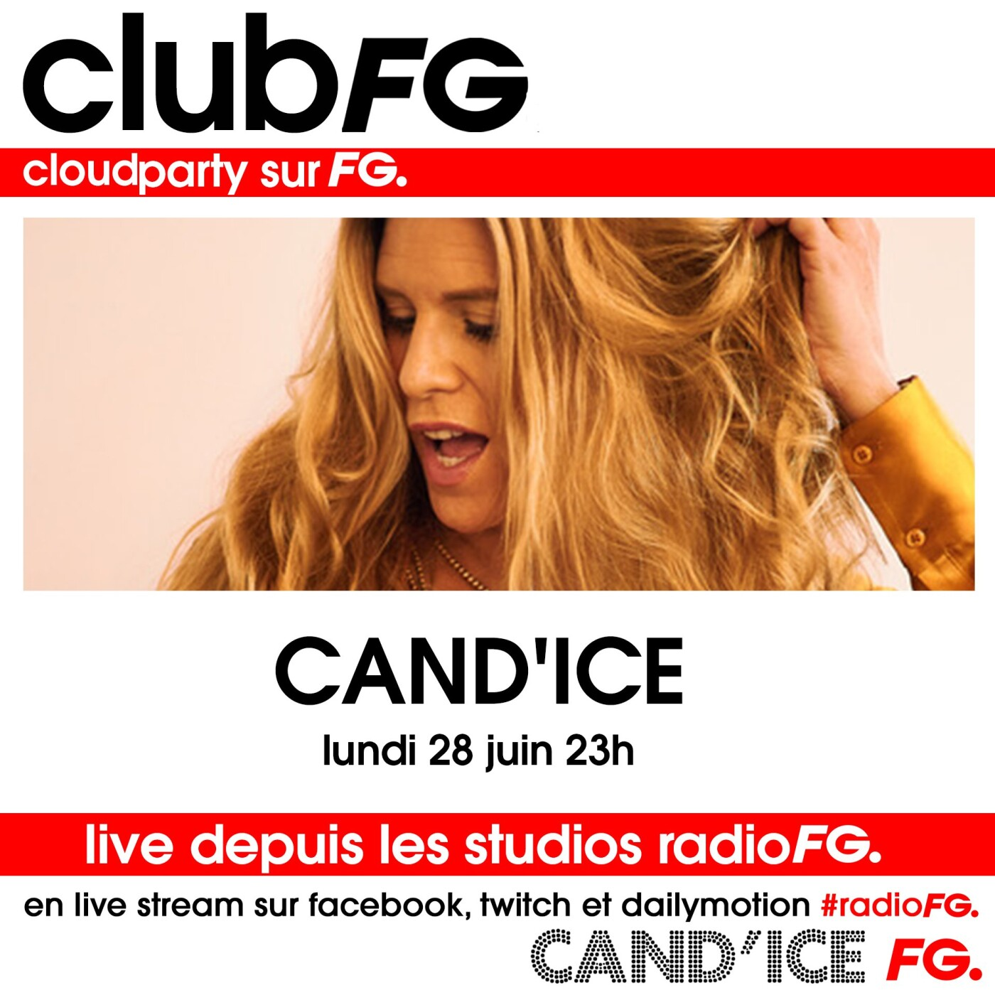 CLOUD PARTY : CAND'ICE
