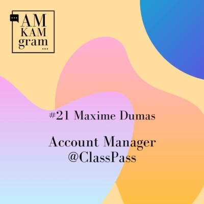 Episode 21 : Maxime, Account Manager chez ClassPass