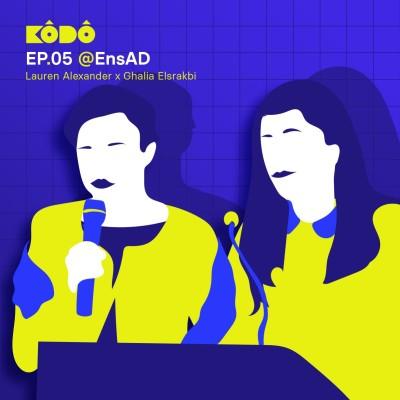 Ep05 @EnsAD | projet 4Cs | Memory archive |  Ghalia Elsrakbi et Lauren Alexander | English cover