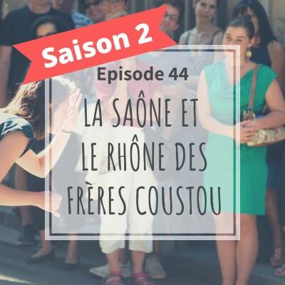 2-44 - La Saône Et Le Rhône Des Frères Coustou cover