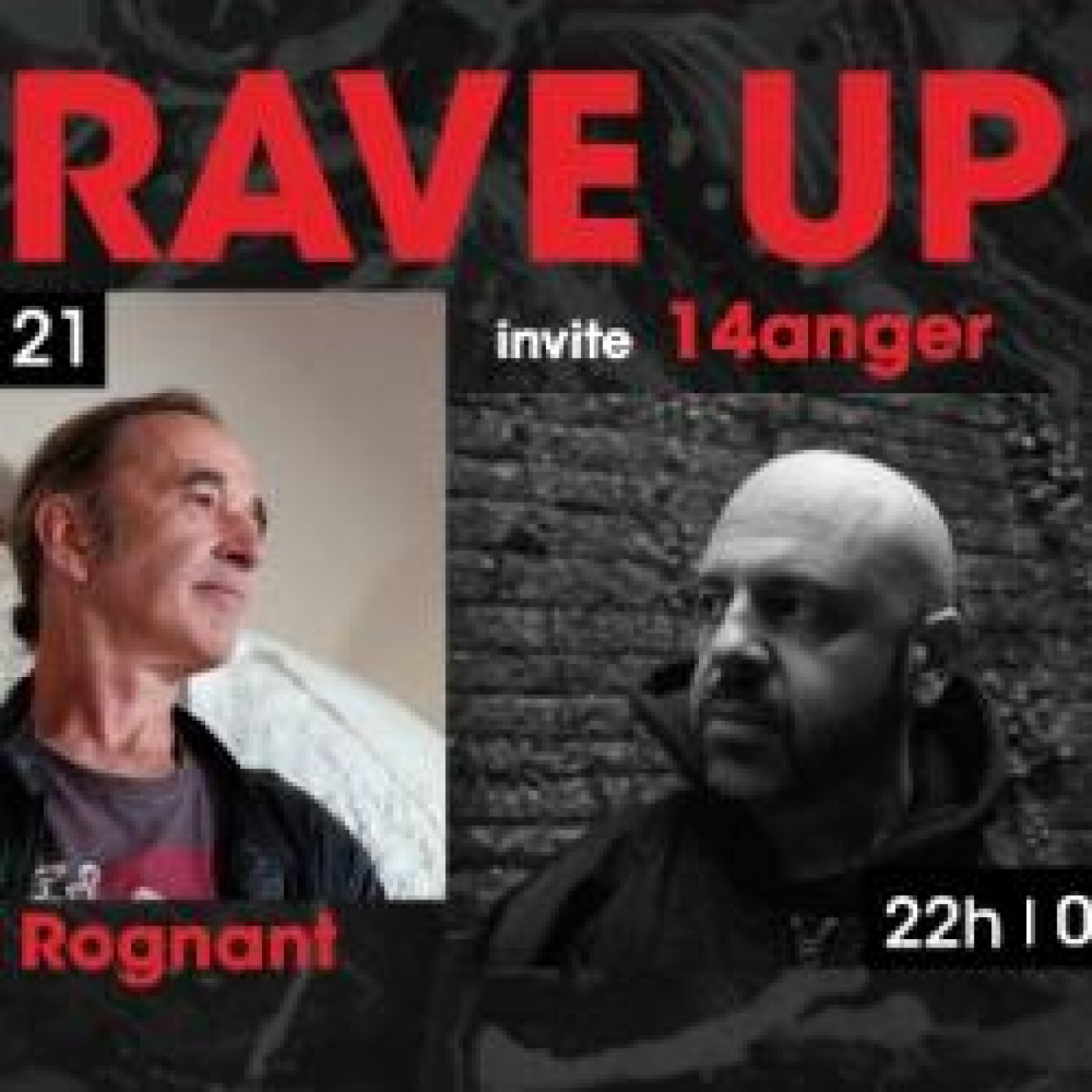 RAVE UP : 14anger