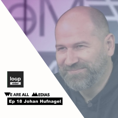 Ep 18 - Johan Hufnagel - Loopsider - Le media boosté à l'intelligence artificielle pour informer le mieux possible cover