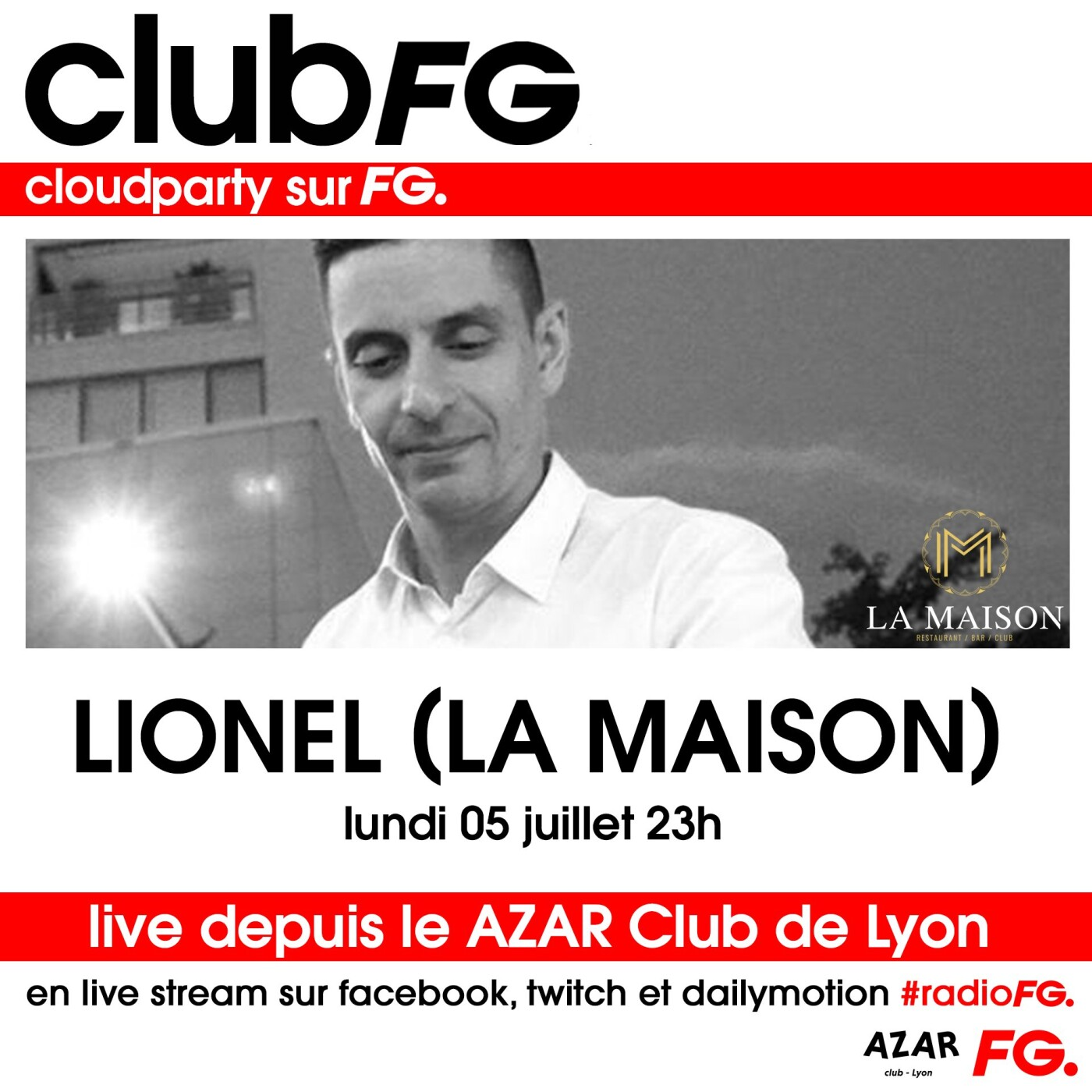 CLOUD PARTY : LIONEL LA MAISON