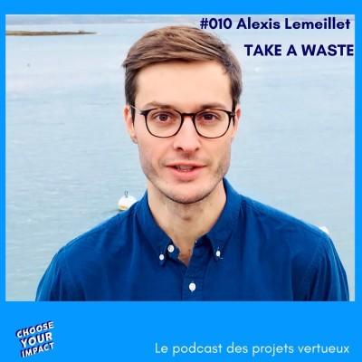 010 Alexis Lemeillet - TAKE A WASTE ou comment mettre en place le tri pour réduire les déchets dans l'entreprise cover