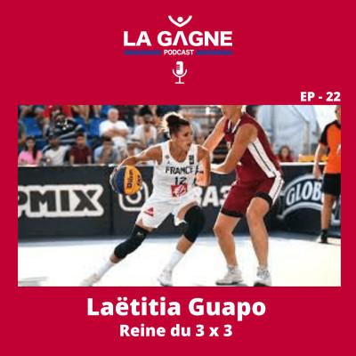 EP 22 - Laëtitia Guapo, Reine du 3x3 cover