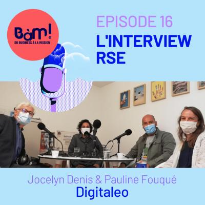 #16 L'Interview RSE - Digitaleo s'engage pour un numérique responsable cover