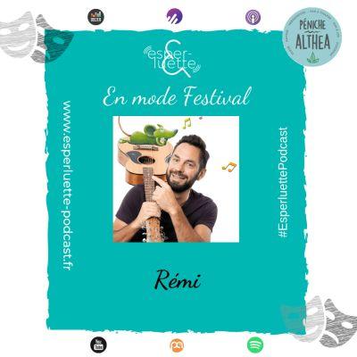 """image """"En mode Festival"""" - Rémi - 'Bébé chante et signe' et 'La fête des comptines'"""