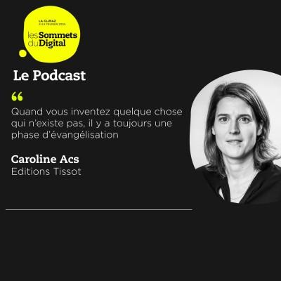 Cover' show Caroline Acs - Innover dans un secteur d'activité historique