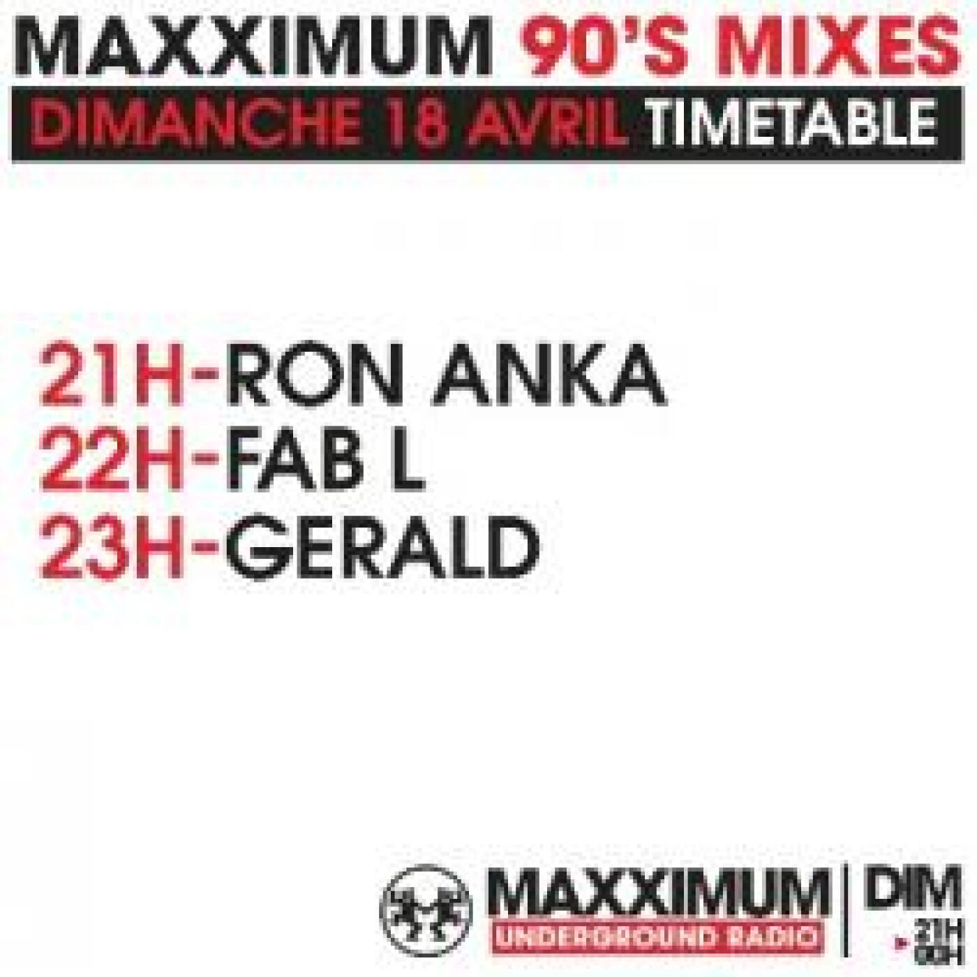 PANORAMAXX 90'S : GERALD