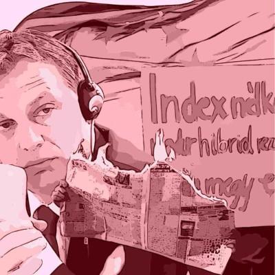 S1E3 - Index, Viktor Orbán e il crollo del pluralismo dei media in Ungheria cover