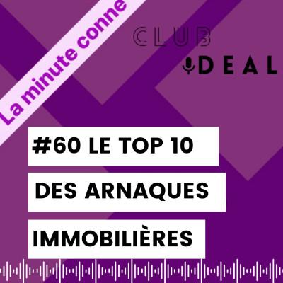 60 MINUTE CONNE: LE TOP 10 des arnaques immobilières cover