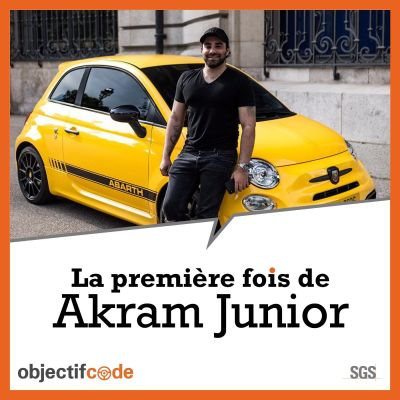 Akram - Ma 1ère voiture cover