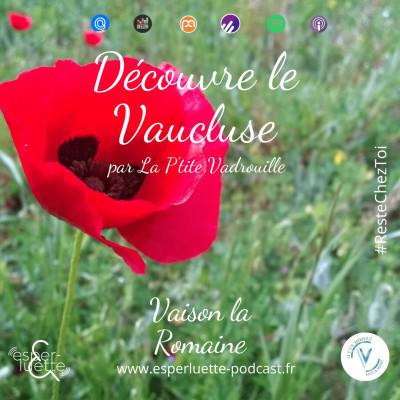 Vaison La Romaine par La P'tite Vadrouille - Découvre le Vaucluse #ResteChezToi cover