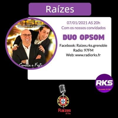LUSOTIME - Emission du 07/01/2021 avec Duo Opsom cover