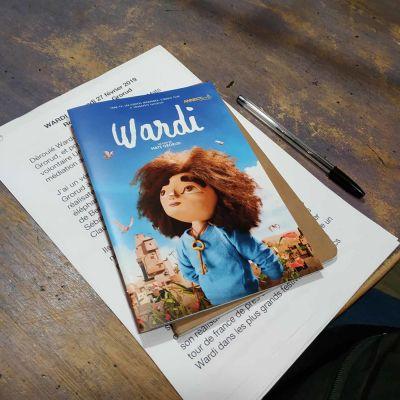 "image 27 fev 2019 : Grorud Mats pour ""Wardi"" / Lena Breban pour ""Verte"""