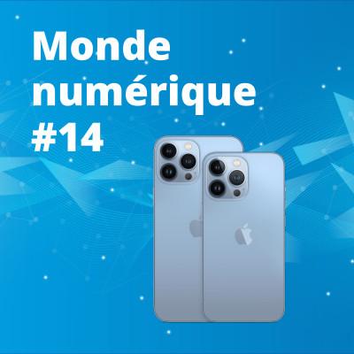 #14 iPhone 13, quelles nouveautés ? - Le boom des smartphones reconditionnés - L'hydrogène, c'est l'avenir ? cover