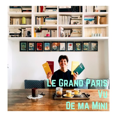 Le Grand Paris Vu De Ma Mini (La Fille des Carnets) cover