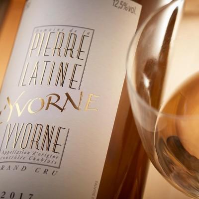 L'Yvorne, Philippe Gex, domaine de la Pierre Latine, Yvorne, Chablais cover