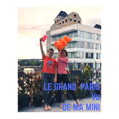 Le Grand Paris Vu De Ma Mini (La Kaze Départ) cover