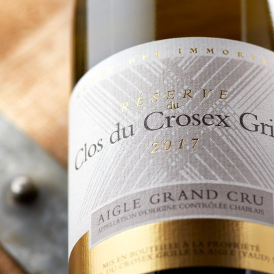 Clos du Crosex Grillé, Philippe Gex, domaine de la Pierre Latine, Aigle, Chablais cover