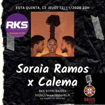 LUSOTIME - Emission du 12/11/2020 avec Calema/Soraia Ramos, Alegria do Minho & Sandra Canivet cover