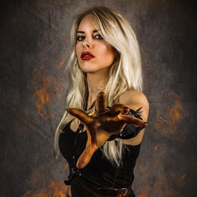 213Rock Harrag Melodica Live interview with Laura Guldemond of Burning Witches cover
