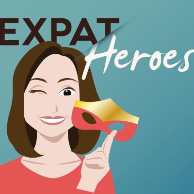 "Cristina présente ses podcasts ""Expat Heroes"" (depuis 2017) - 23 06 2021 - StereoChic Radio cover"