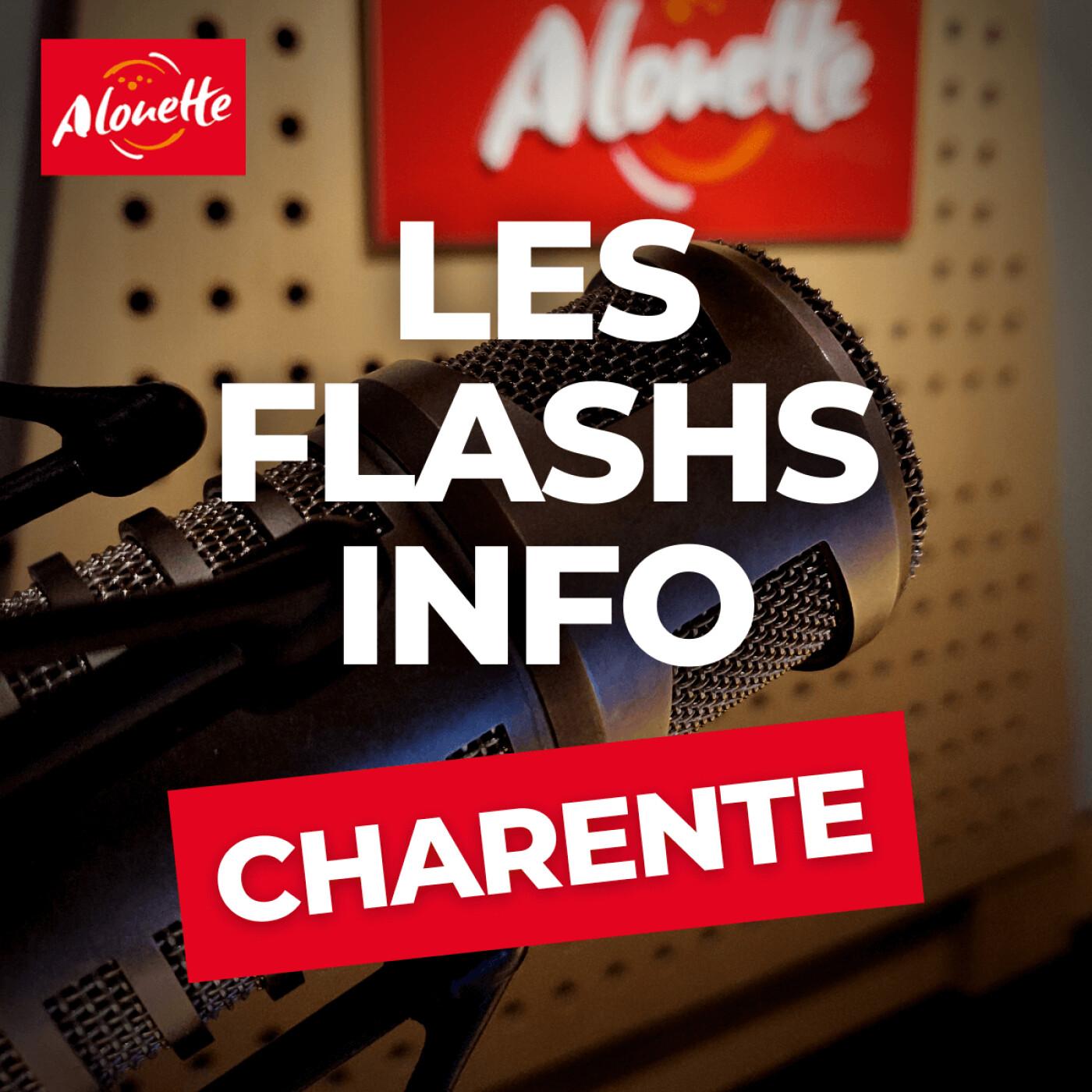 Alouette - Les Infos du 10 Octobre 07h00 en Charente.