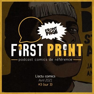 Front Page : l'actualité comics d'avril 2021 #2 (sur 3) cover