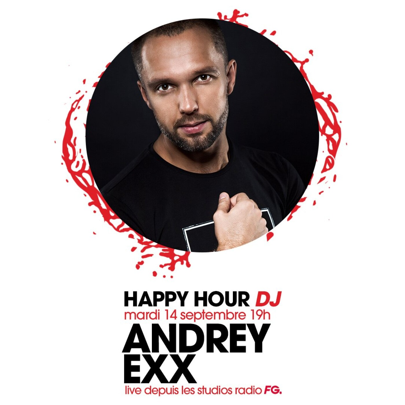 HAPPY HOUR DJ : ANDREY EXX