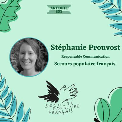 Une belle solidarité en temps de pandémie - Stéphanie Prouvost - Secours Populaire Français cover