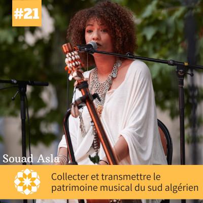 E#21 Collecter et transmettre le patrimoine musical du sud algérien, avec Souad Asla cover