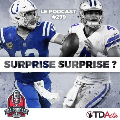 image TDA Podcast n°279 - Preview Divisional : les Chiefs et Rams surpris ?