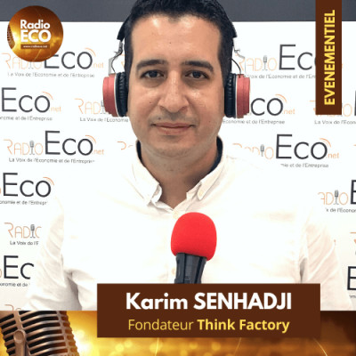 "Karim Senhadji I Fondateur ""Think Factory"" cover"