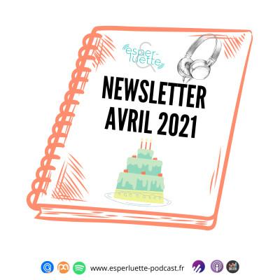 Esperluette - Newsletter Avril  2021 cover