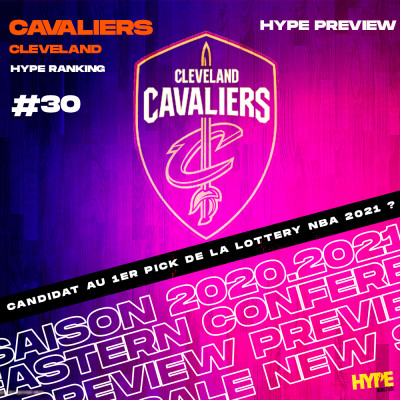 HYPE x BASKET USA - PREVIEW  # 30 : LES CLEVELAND CAVALIERS cover