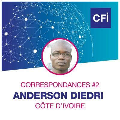 Correspondances #2 - Anderson Diedri, enquêteur au service de la population ivoirienne cover